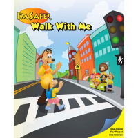 6-1340 I'm Safe! Walk With Me Activity Book - English
