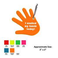 R923 Reflective Handwashing Zipper Pull