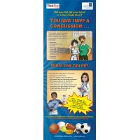 10-4894 Concussion Care Standup Banner Display